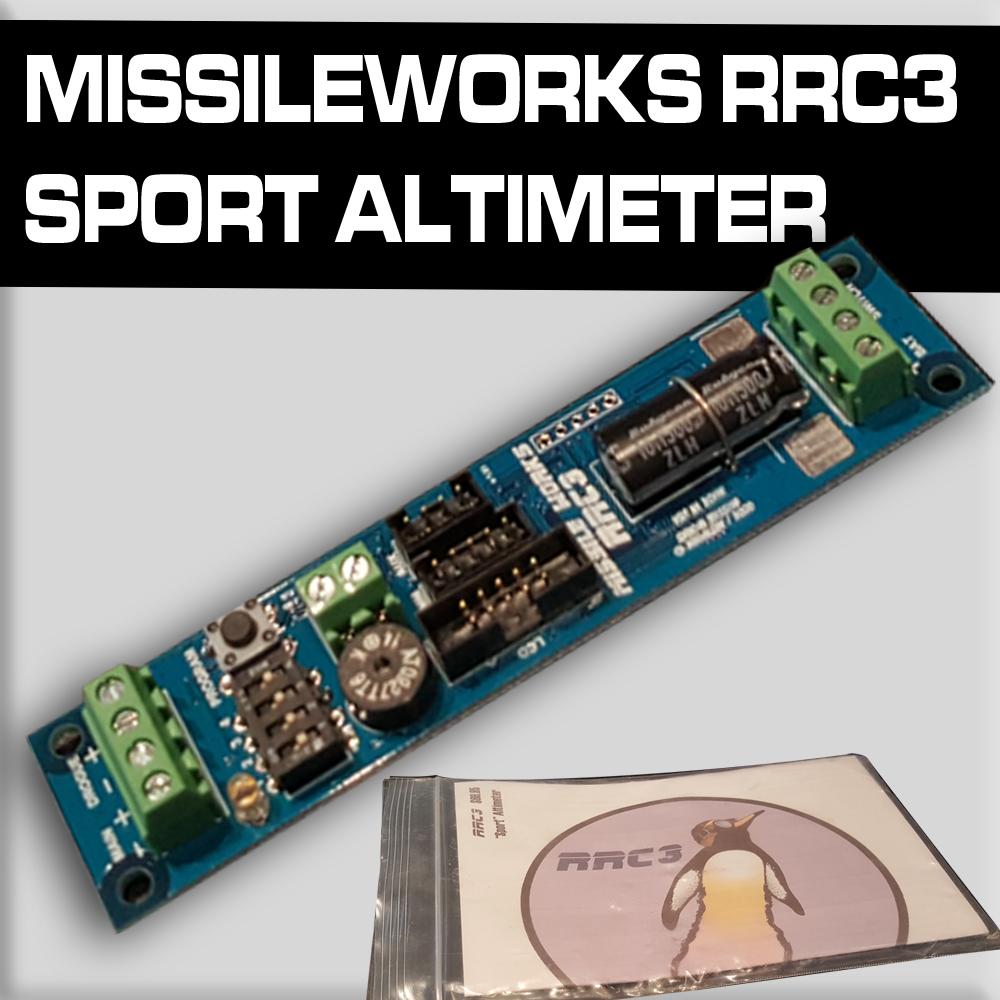 Missileworks RRC3 Sport Altimeter