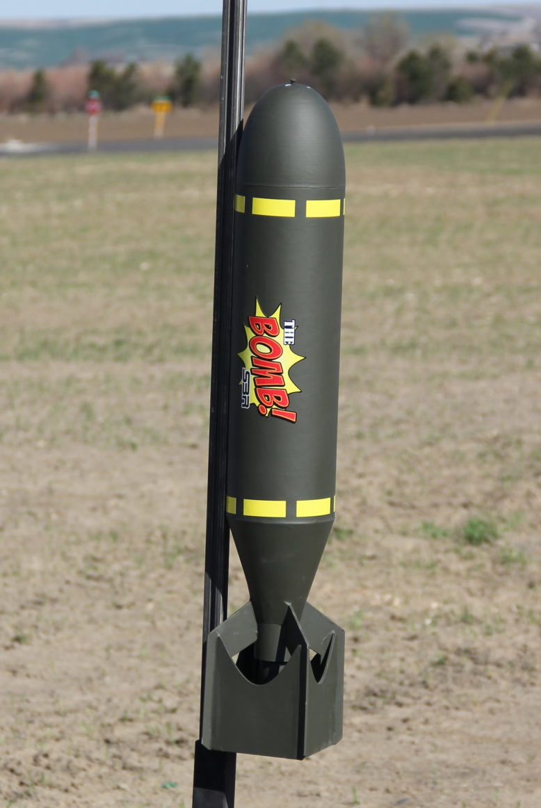 "SBR 5.5"" The Bomb High Power Rocket Kit"