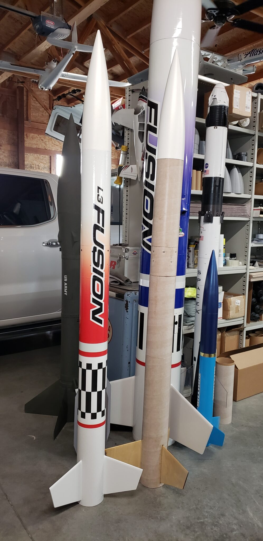 "SBR 5.5"" L3 Fusion High Power Rocket Kit"