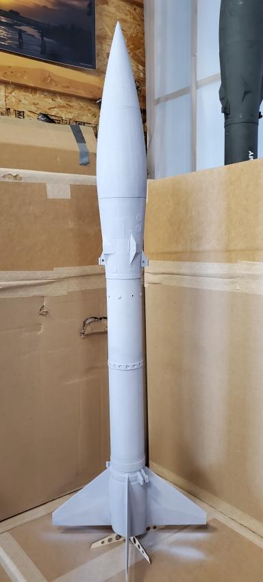 """NEW!  SBR 3"""" Honest John High Power Rocket Kit"""